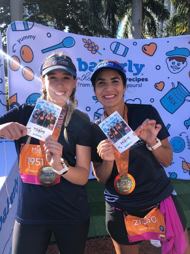 Borne selfie et animation photocall au marathon de Miami 2020 en Floride sur le stand Bakerly