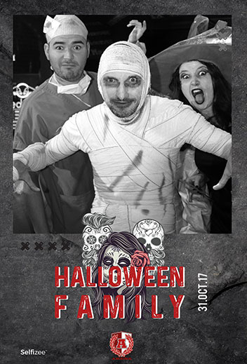 Halloween party avec photobooth à l'Arena Brasserie Sportive Brest