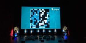Animation photo mosaïque sur écran géant avec borne photo au 59ème congrès de l'Unapei à Lyon