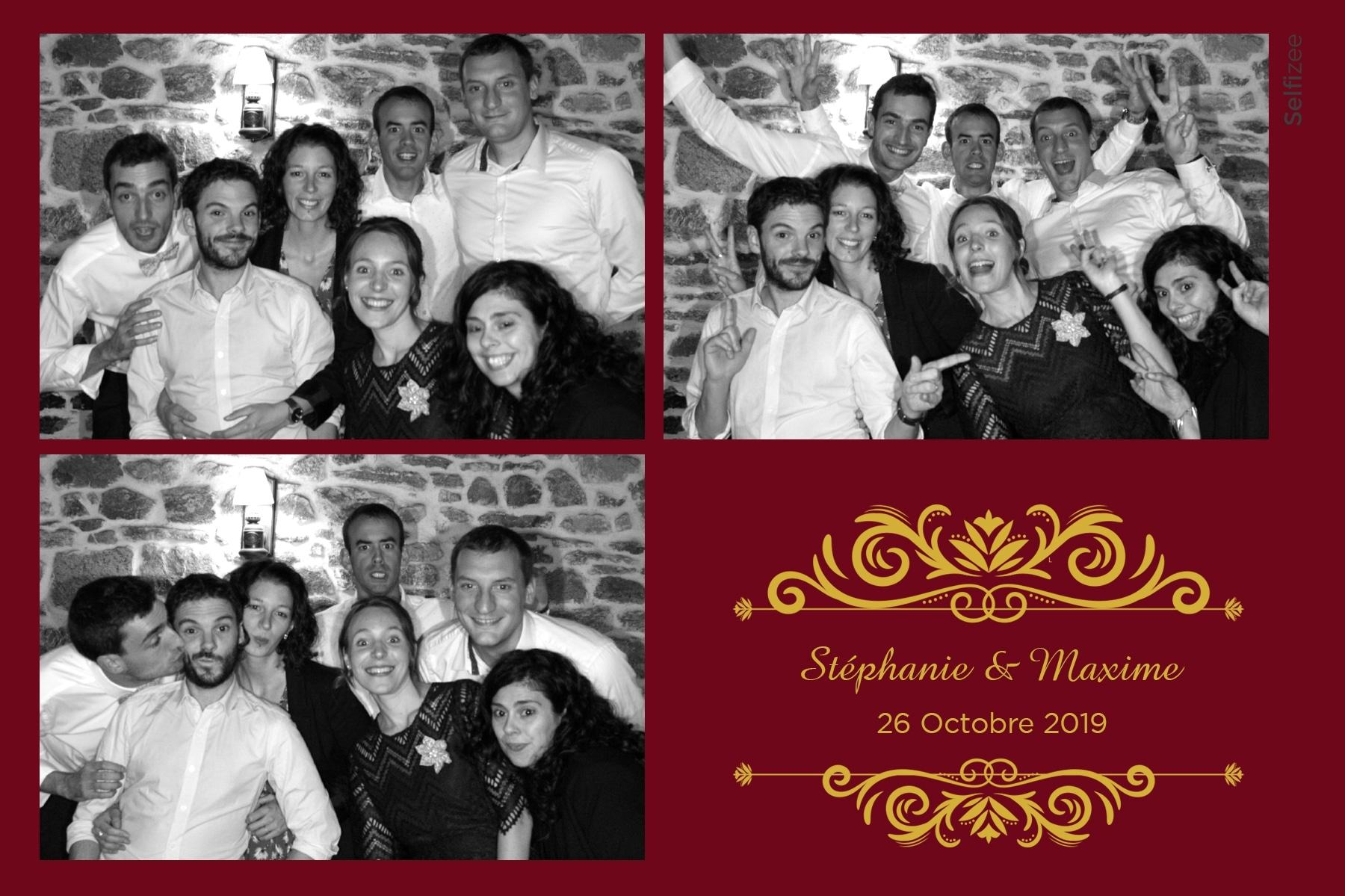 Borne selfie pour photos mariage personnalisées dans le Morbihan - photobooth à louer à Carhaix Plouguer pour mariage, anniversaire, fête, baptême
