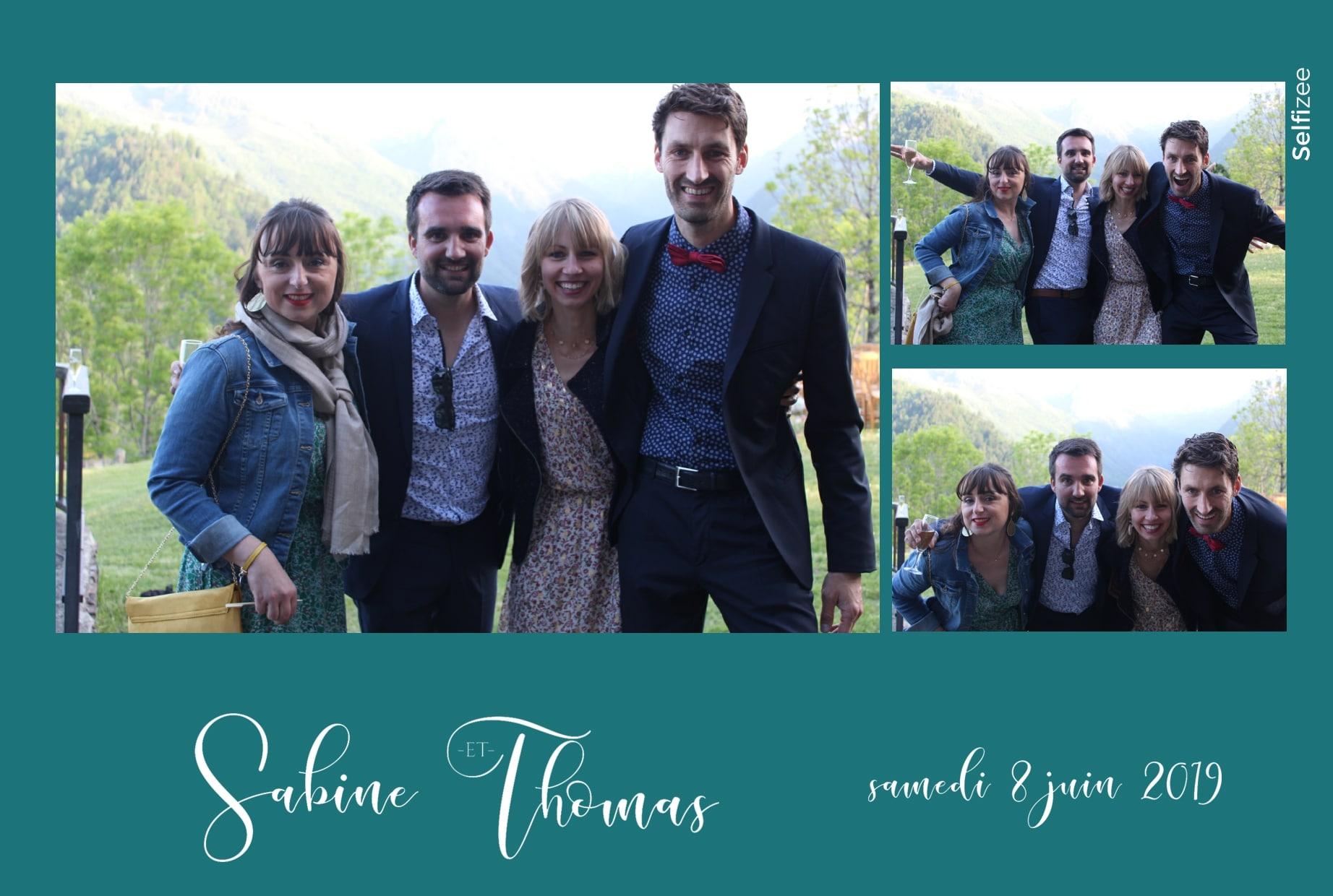Animation selfie mariage avec borne photo à louer à Perpignan et en Pyrénées Orientales pour impressions photos mariage