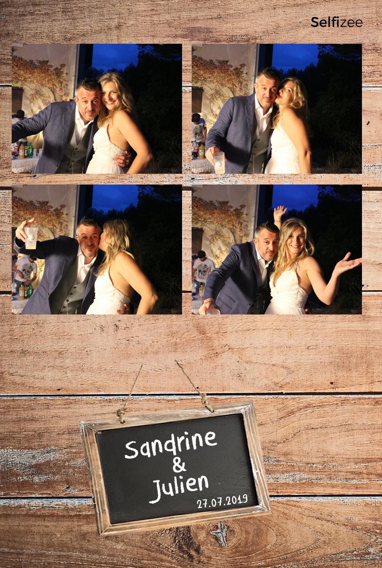 Animation photobooth mariage Marseille - location borne photo mariage Marseille et Bouches du Rhône avec impressions selfies