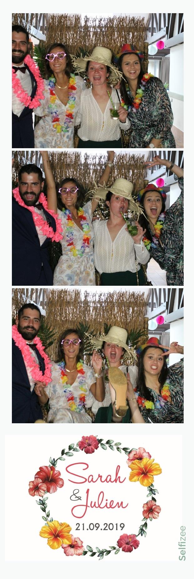 Animation selfie mariage ou fête avec location borne photo à Carhaix Plouguer et dans le Finistère