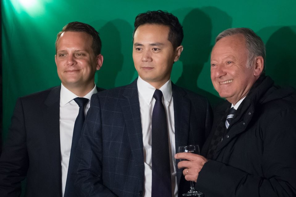 Photo personnalisée avec animation photobooth et fond vert à l'inauguration de l'Abeille Nice en 2019