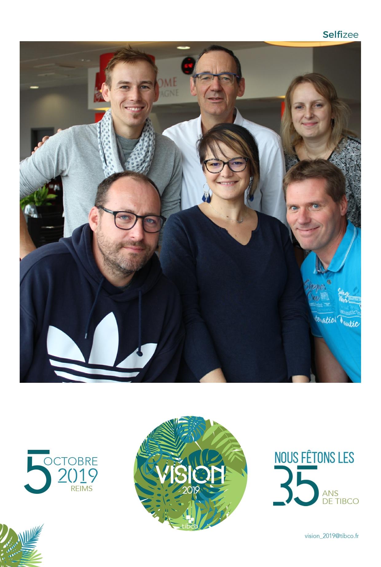 Photo personnalisée et animation photobooth pour fête anniversaire Tibco Reims