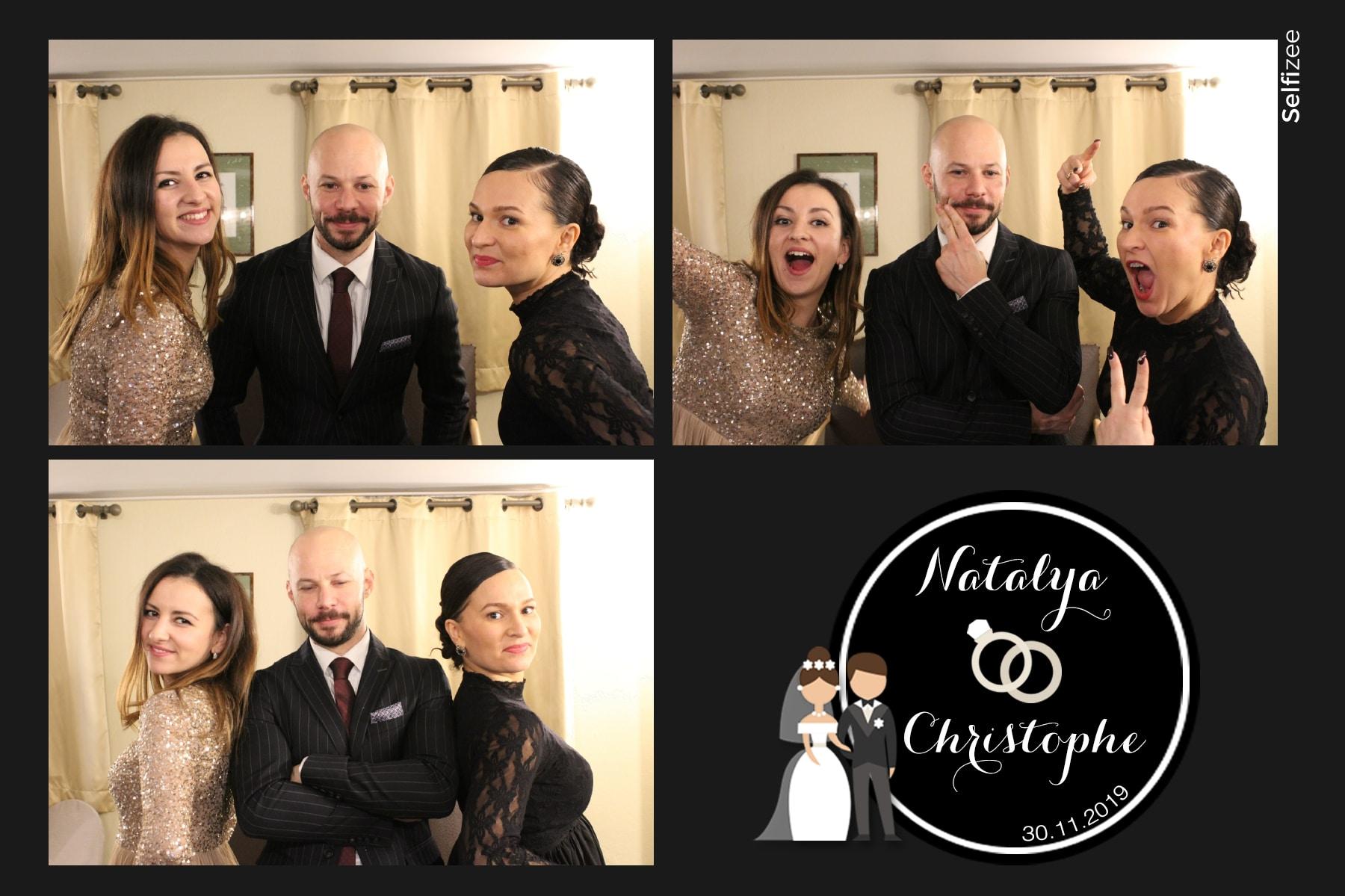 Animation photobooth mariage et selfies personnalisés avec borne photo à louer Dunkerque / Nord pour animation mariage, anniversaire, fête, baptême avec impressions photos