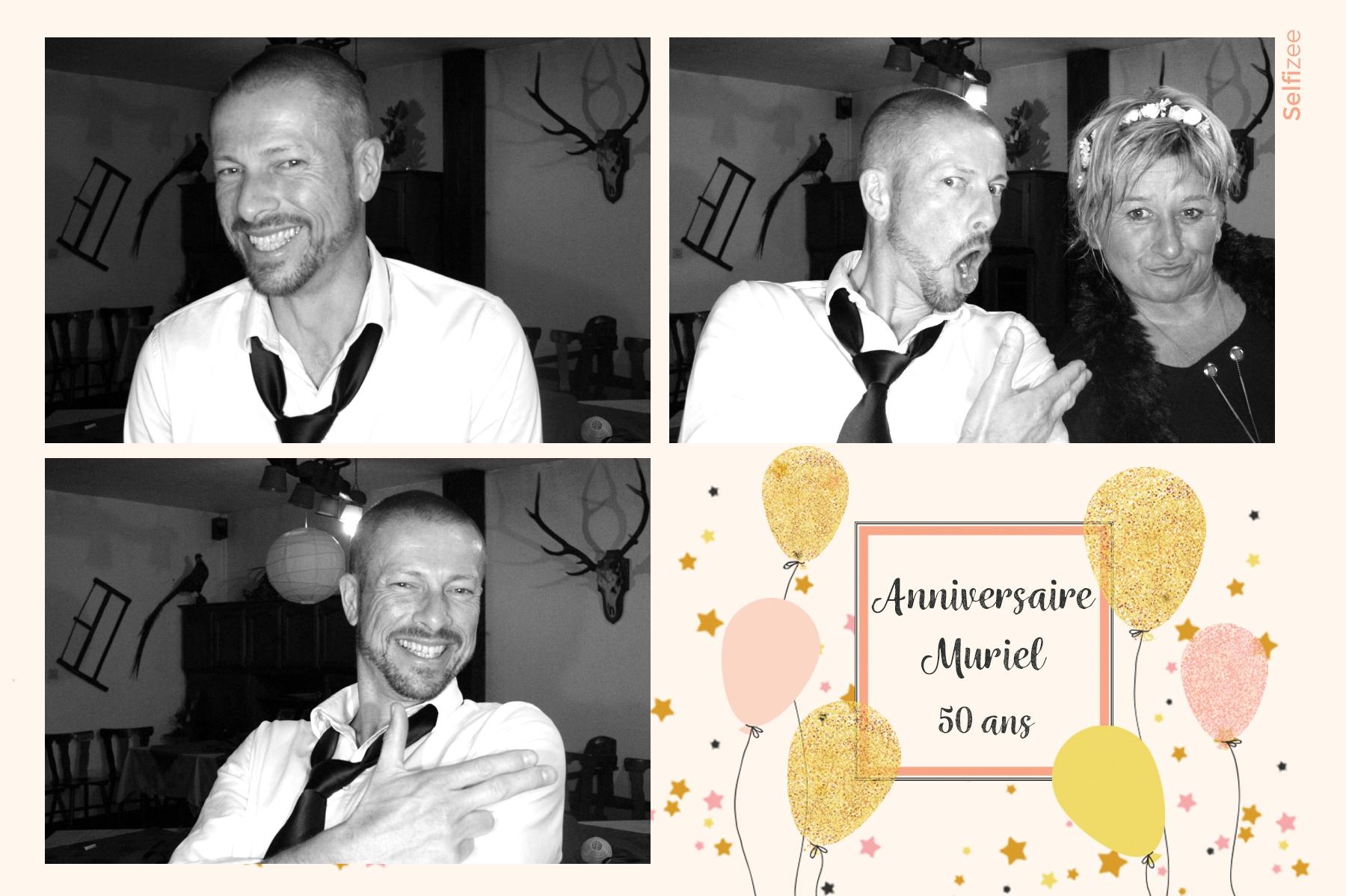 Animation photobooth anniversaire Mulhouse avec selfies personnalisés - borne photo à louer Mulhouse / Haut Rhin mariage, anniversaire, baptême, soirée, fête avec impressions photos