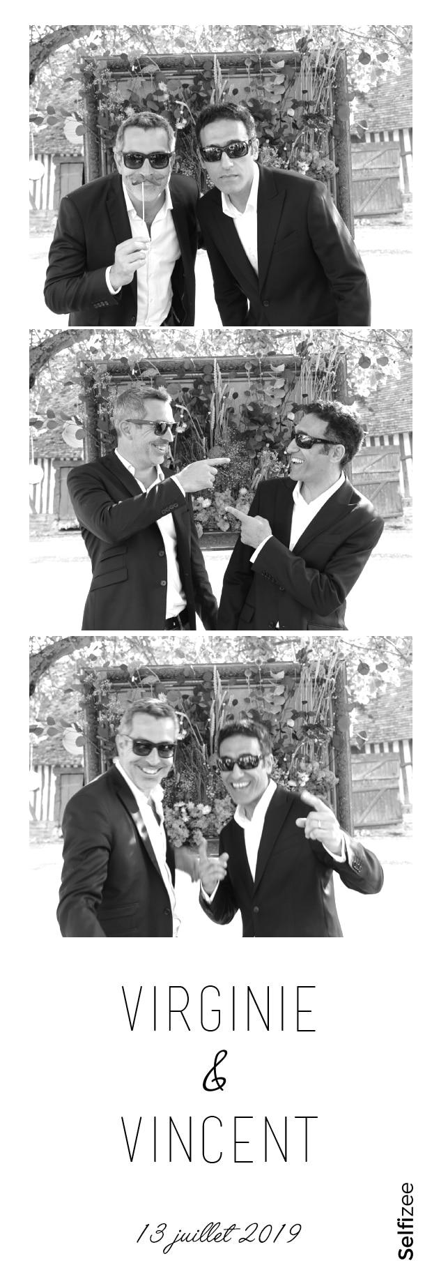 Animation photobooth mariage personnalisée - borne selfie à louer à Saint Lô / Manche pour mariage, anniversaire, fête avec impressions photos