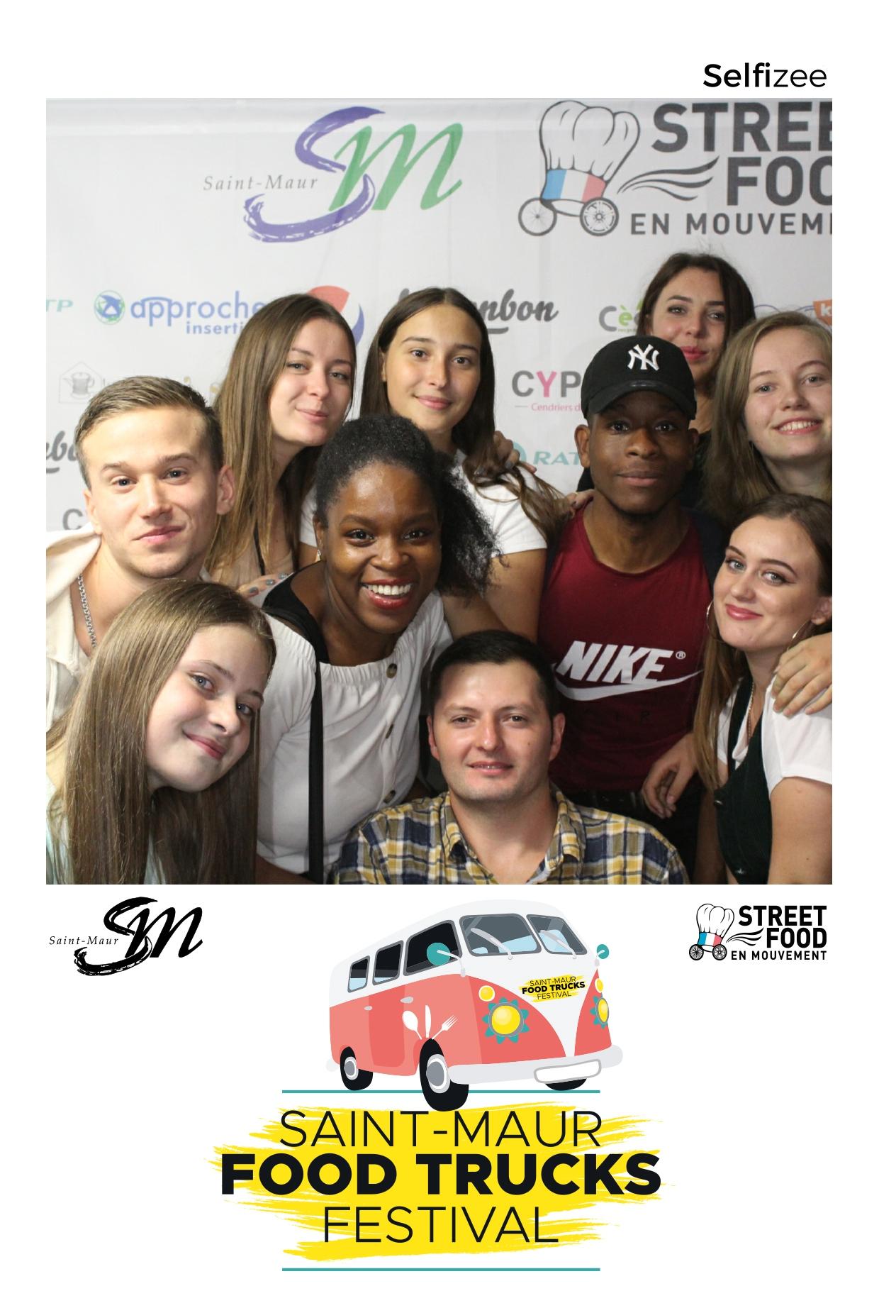 Animation photo personnalisée et photobooth au festival Food Trucks Saint Maur près de Créteil dans le Val de Marne